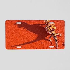 Desert adapted Thorny Devil Aluminum License Plate