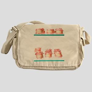 Dental moulds Messenger Bag
