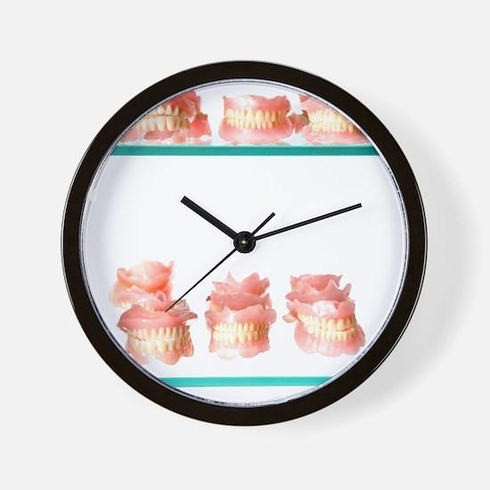 Dental moulds Wall Clock