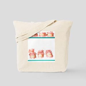 Dental moulds Tote Bag