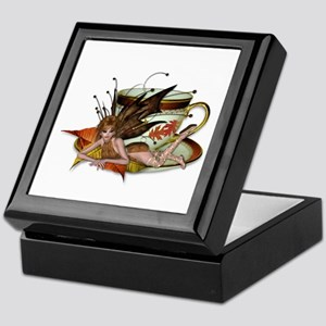 AUTUMN Teacup Fairy Keepsake Box