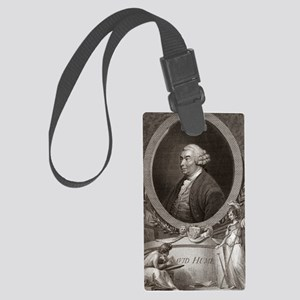 David Hume, Scottish philosopher Large Luggage Tag