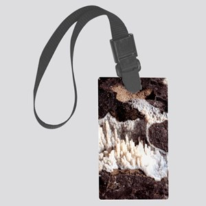 Chalcedony mineral Large Luggage Tag