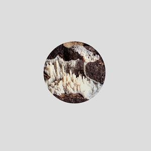 Chalcedony mineral Mini Button