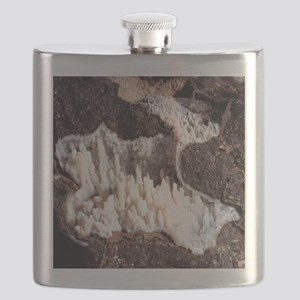 Chalcedony mineral Flask