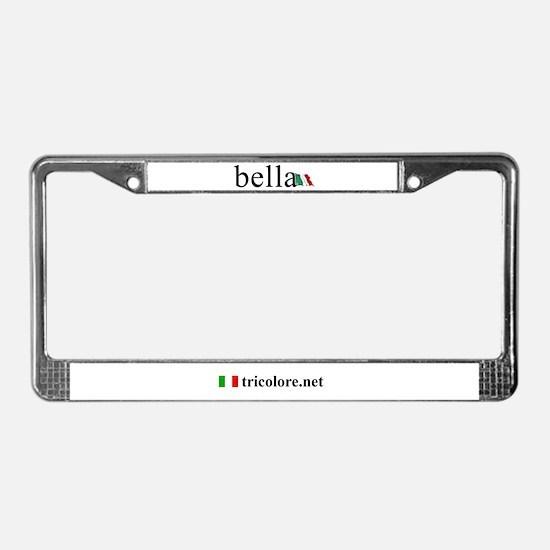 Unique Bella License Plate Frame