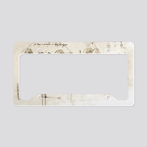 Da Vinci's notebook License Plate Holder