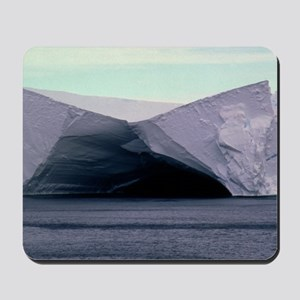 Caves in the Ross Ice Shelf, Antartica Mousepad