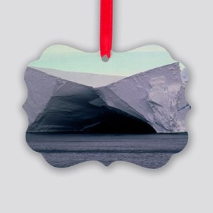 Caves in the Ross Ice Shelf, Anta Picture Ornament