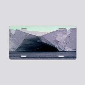 Caves in the Ross Ice Shelf Aluminum License Plate