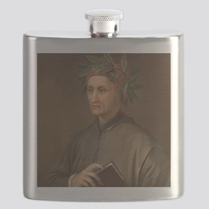 Dante Alighieri poet wrote Divine Comedy Flask