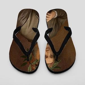Dante Alighieri poet wrote Divine Comed Flip Flops