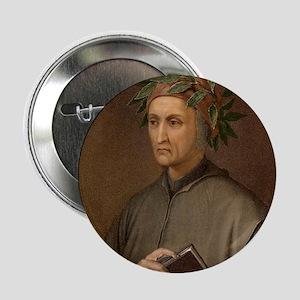 "Dante Alighieri poet wrote Divine Com 2.25"" Button"