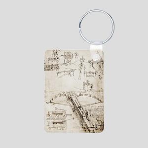 Da Vinci's crossbow Aluminum Photo Keychain
