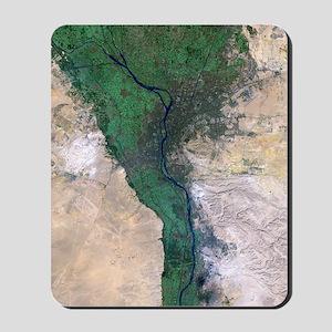 Cairo, satellite image Mousepad