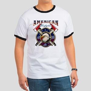 American Firefighter - Axes Ringer T