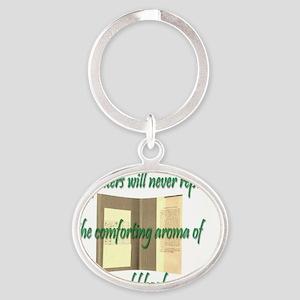 Cap Oval Keychain