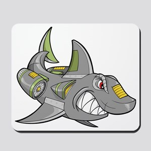 Robot Shark Mousepad