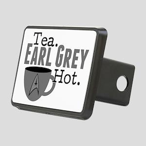 Tea Earl Grey Hot Rectangular Hitch Cover
