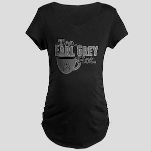 Tea Earl Grey Hot Maternity Dark T-Shirt