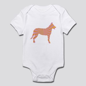 Beauceron Rays Infant Bodysuit
