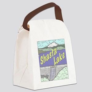 Three Shastas Canvas Lunch Bag