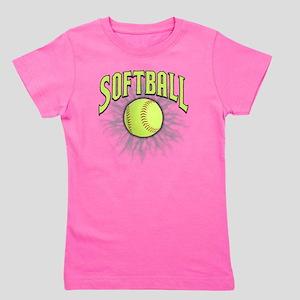 Softball Girl's Tee