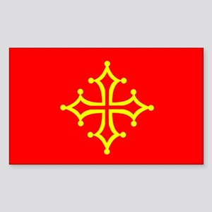 Languedoc Rectangle Sticker