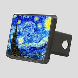Laptop Van Gogh Rectangular Hitch Cover