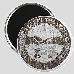 Vintage Ohio Seal Magnet
