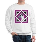 Harlequin Great Dane design Sweatshirt