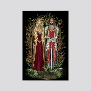 Royals of Avalon Rectangle Magnet