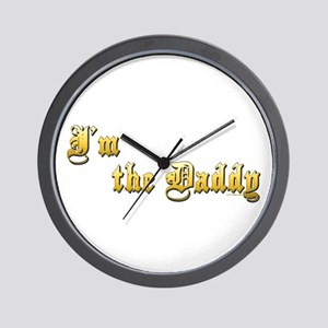I'M THE DADDY Wall Clock