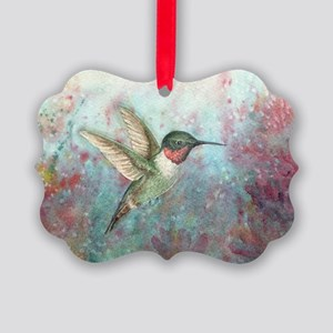 Hummingbird Picture Ornament