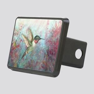 Hummingbird Rectangular Hitch Cover