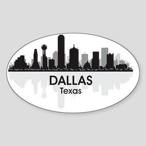 Dallas Sticker (Oval)