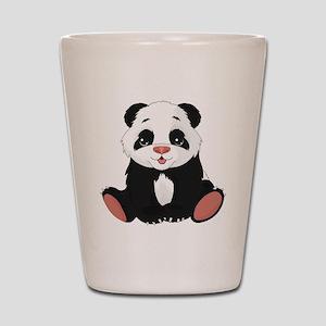Cute Little Panda Shot Glass