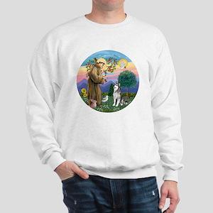 St. Francis-AlaskanMalamute Sweatshirt