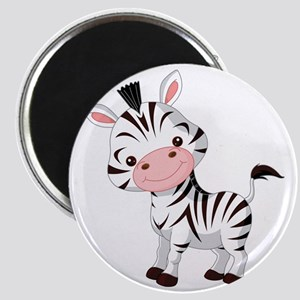 Cute Baby Zebra Magnet
