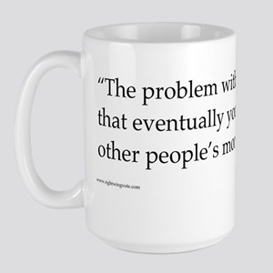 Problem with Socialism II Large Mug