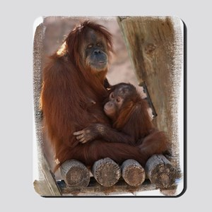 (16) Orang Mother and Child 7374 Mousepad