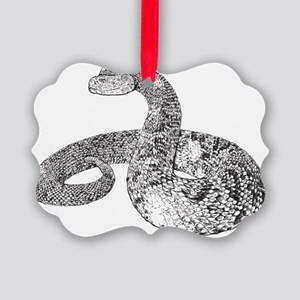 Rattlesnake Picture Ornament