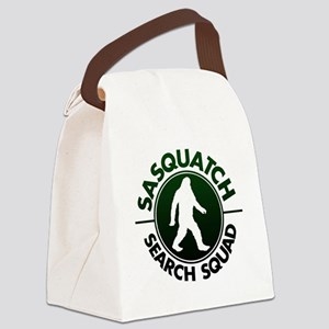 SASQUATCH SEARCH SQUAD Canvas Lunch Bag