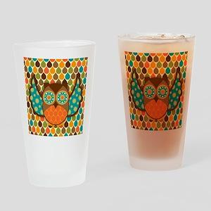 Owl Boheme Brown Drinking Glass