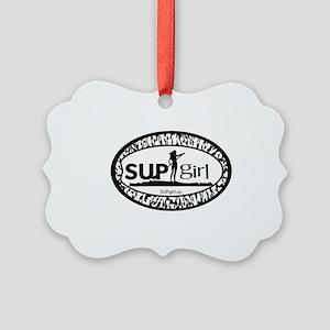 SUPgirl Picture Ornament