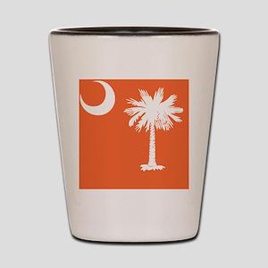 South Carolina Palmetto State Flag  Shot Glass