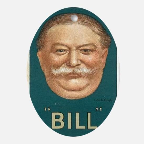 Taft for President Oval Ornament