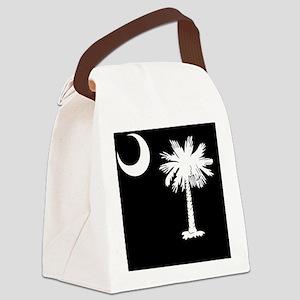 South Carolina Palmetto State Fla Canvas Lunch Bag
