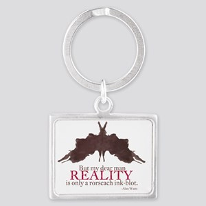 Alan Watts, Reality is an Rorsc Landscape Keychain