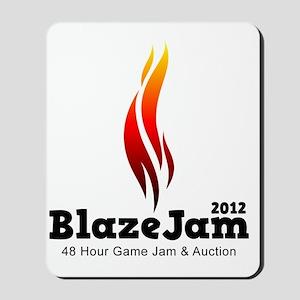BlazeJam Logo - Light Mousepad
